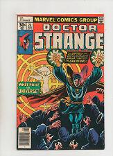 Doctor Strange #24 - Cosmic Wheel - (Grade 8.0) 1977