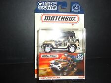 Matchbox Jeep Wrangler Oro Fhy45-956a 1/64
