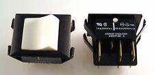 Arrow 200412E A Black Switch White Rocker 10A 250VAC DPDT OnOffOn 2 Pcs OM0293N