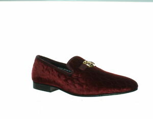 Stacy Adams Mens Valet Burgundy Loafers Size 10.5 (1385844)
