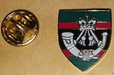 the rifles regiment lapel enamel badge british army infantry