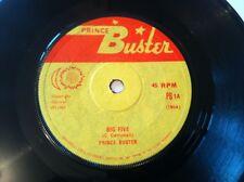 Prince Buster **Big Five / Musical College** 1967 Reggae on Prince Buster PB1