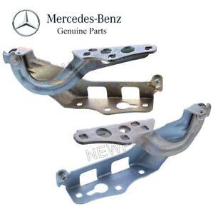 Genuine For Mercedes C300 C43 AMG C450 AMG C63 AMG S Left & Right Hood Hinges