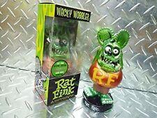 FUNKO POP RAT FINK BOBBLEHEAD WACKY WOBBLER METALLIC GREEN 2009 SDCC **NEW**