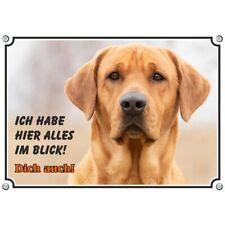 Hundeschild - Broholmer - Warnschild - Metallschild - wetterbeständig