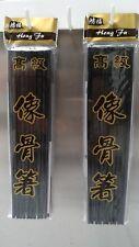 10 Pairs High Quality Classic Asian BLACK Melamine Chopsticks Dinner Restaurant