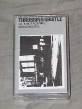 Throbbing Gristle Cassette Tape IRC 20 Live At The Facotry, Manchester