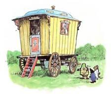 Wind in the Willows..Original Vintage Print MOUNTED... 'The Caravan'..