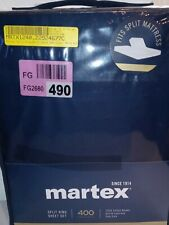 martex split king sheetset 400 thread count