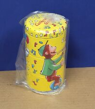 Schylling Tin Litho Curious George Twisting  Tins Retro Mint (New!) 1995