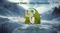 Shiny Mamoswine Event 6IV - Pokemon X/Y OR/AS S/M US/UM Sword/Shield