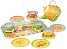 Vilac MUSICAL TEA SET Toddler/Child Role Play Melody Song Friends Tin BN