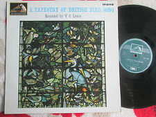 Victor C. Lewis ‎A Tapestry Of British Bird Song HMV CLP. 1723 Mono Vinyl Album