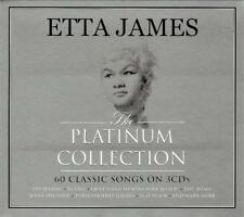 ETTA JAMES - THE PLATINUM COLLECTION - 60 CLASSIC SONGS (NEW SEALED 3CD)
