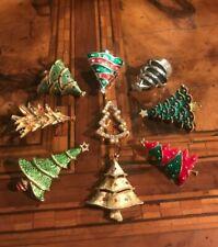 Rare! Vintage Christmas Tree Brooch To Choose Spilla Albero di Natale A Scelta*
