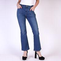 Levi's 515 Bootcut Classic Wash Damen Blau Jeans Größe 36 / US W28 L30