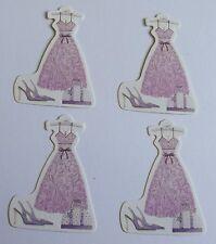 PK 4 dress shoes & bag Abbellimenti per le schede