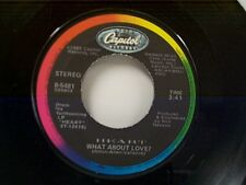 """HEART """"WHAT ABOUT LOVE / HEART OF DARKNESS"""" 45 MINT"""