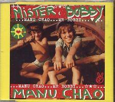 MANU CHAO - Mister Bobby - CDs SINGLE 2002 NUOVO NON SIGILLATO NEW NOT SEALED