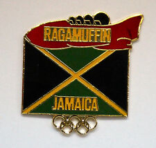 Jamaica Boblsed Team Albertville  Ragamuffen Competing in Sochi Olympic NOC Pin