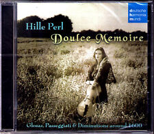 Hille PERL: DOULCE MEMOIRE Monteverdi Oritz Casa Notari CD Andrew Lawrence-King