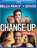The Change-Up Unrated Blu-ray BD DVD 2-Disc Set In Original Case Slip Cover