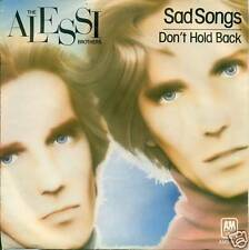 """The Alessi Brothers Sad Songs Single 7 """" S3070"""