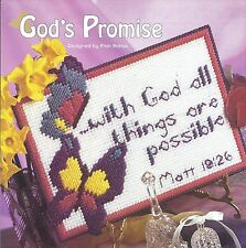 **GOD'S PROMISE TO STITCH--PATTERN ONLY**PLASTIC CANVAS PATTERN**
