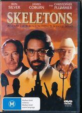 SKELETONS - Ron Silver, Christopher Plummer, dvd reg 4