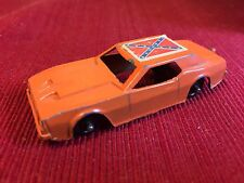 Midgetoy Rockford Ill. USA vintage general lee  car Dodge Diecast Dukes Orange