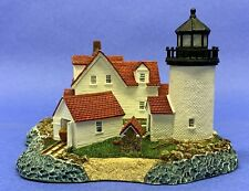 Harbour Lights Goat Island Maine Lighthouse Figurine Limited Ed. #222 Lh04