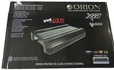 Orion XTR25001DZ XTR Series Class D Car Amplifier 2500 Watts BRAND NEW