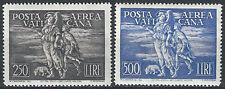 1948 Vaticano Tobia 2v SL(MNH) Cat Sass A16/17 € 1050,00