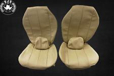 Sitzbezüge für Mercedes SL R129 bis Bj.96,vor Mopf champignon beige  NEU