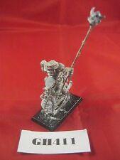 Fuera de imprenta Warhammer orco Equitación fría conversión estándar metal ref GH411