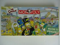 The Simpsons Monopoly Game - 2001 - 100% Complete - Bart Homer Marge Lisa
