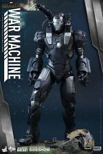 Hot Toys War Machine Diecast Iron Man 2 1/6 Figure New Sealed UK