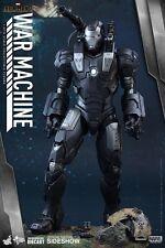 Hot Toys War Machine Diecast Iron Man 2 1/6 Sideshow Figure New UK