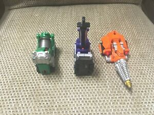 Power Ranger Operation Overdrive Dual Max Megazord zords spares 2 feet & arm