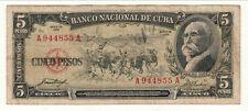 REPUBLIQUE DE CU BA5 PESOS 1958