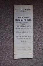 WESTGATE STREET IPSWICH Auction Sale Particulars & Plan 1899 ALE House Business