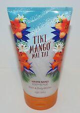 NEW BATH & BODY WORKS TIKI MANGO MAI TAI WHITE SAND BODY SCRUB WASH SHOWER GEL