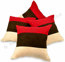 Suede Modern Decorative Cushions