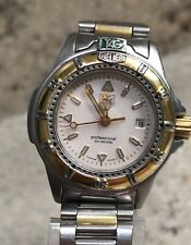 Tag Heuer Professional Two Tone Stainless Steel Watch WF1420 With Box & Links