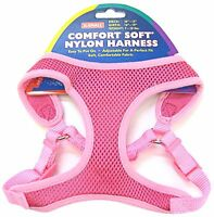 Coastal Comfort Soft Mesh Step in Harness Pink