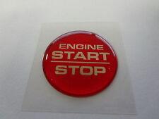 Challenger Keyless Go Starter Push Start Button Emblem Decal Engine Start Stop