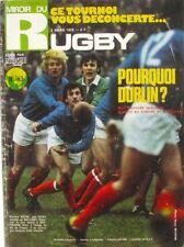 Miroir du Rugby n°163 - 1975 - Dublin - Jean Luc Averous - Bourgoin - JP Rives