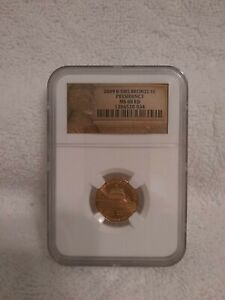 2009 LOGO CENT PRESIDENCY NGC  MS68 SMS