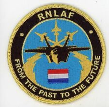 RNLAF Royal Netherlands Air Force Dutch F-35 PATCH!!!!