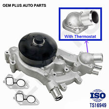 Engine Water Pump For Gmc Chevy Cadillac Hummer 4.8L 5.3L 6.0L 6.2L Thermostat